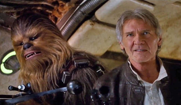 18. Han Solo offers someone a job to work on the <Millennium Falcon</em> after seeing their expert piloting skills. Who is this person?