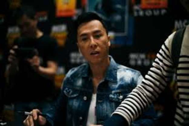 2. What is the name of the Force-sensitive character that Donnie Yen portrays?