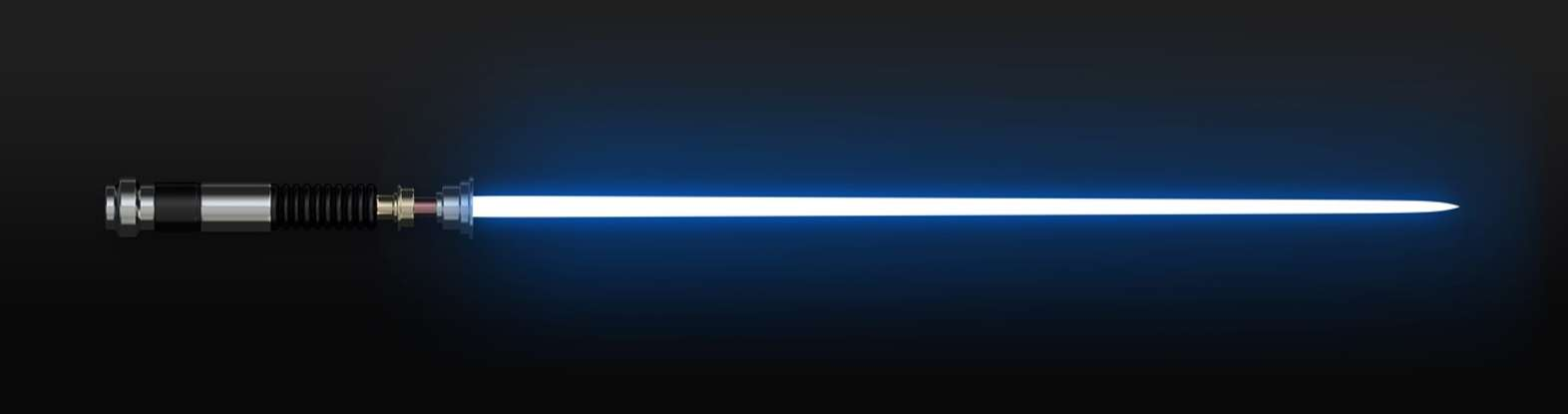 30. How many characters ignite a lightsaber in <em>Rogue One</em>?