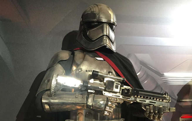 10. What does Captain Phasma call Finn in her last battle?