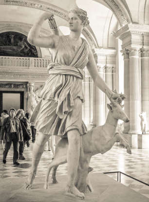 4. Diana (Roman), or Artemis (Greek), is the goddess of which activity?