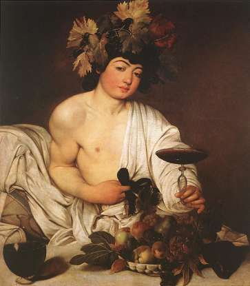 6. Who is the Roman god of wine?