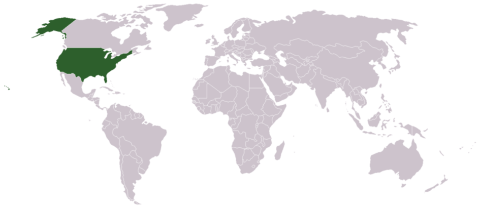 22. Which country is shown highlighted here?