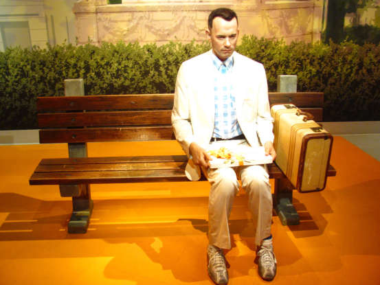 """2. """"Life is like a box of chocolates. You never know what you're gonna get."""" Which movie is this quote from?"""