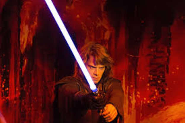 15. In the entire prequel trilogy, which of these characters never holds a lightsaber?