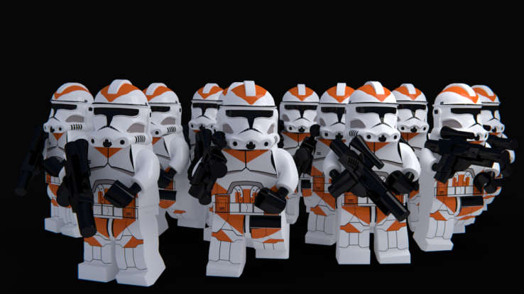 28. Who leads the group of clones on Utapau?