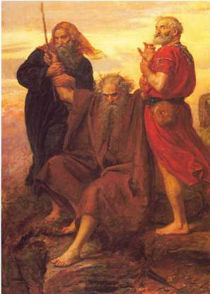 22. Who is the brother of Moses?