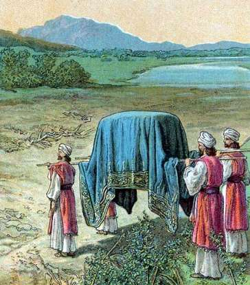 34. After Moses dies, who leads the Israelites into the Promised Land?