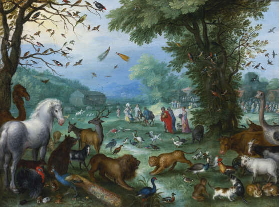 """39. """"Noah took two of each animal into the ark."""" True or false?"""