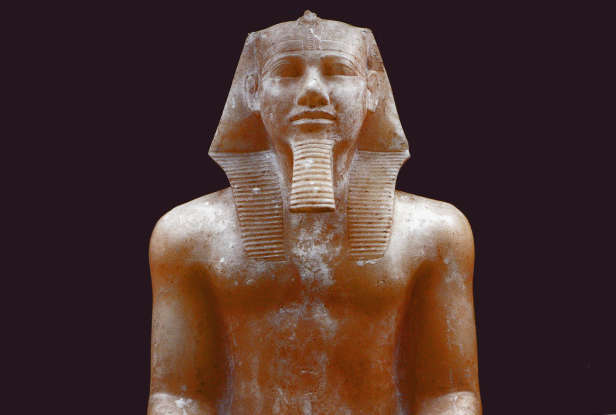 43. Who do some people think is the pharaoh that grows up with Moses?