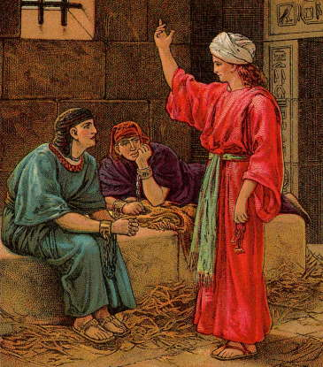 45. When Joseph is in Egypt, he is thrown into prison. For which crime is he incarcerated?