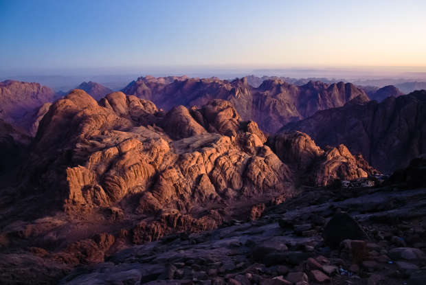 46. What is the other name for Mount Sinai?