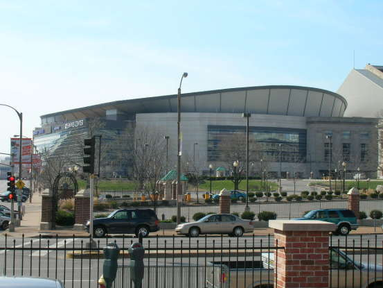 3. What is the name of the stadium that was formerly home to the St. Louis Blues?