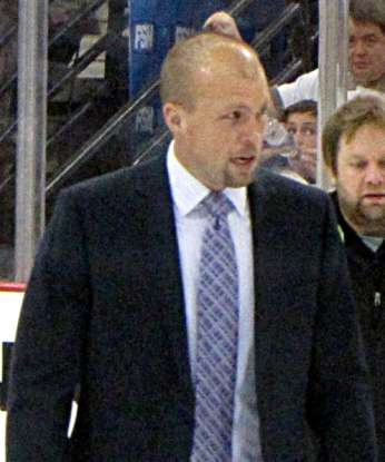 15. How many head coaches have worked for the St. Louis Blues franchise?