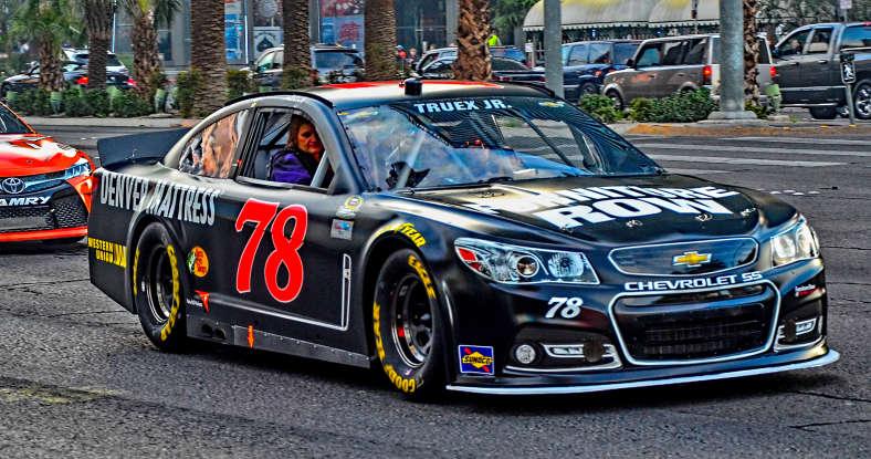 1. Who drives this NASCAR?
