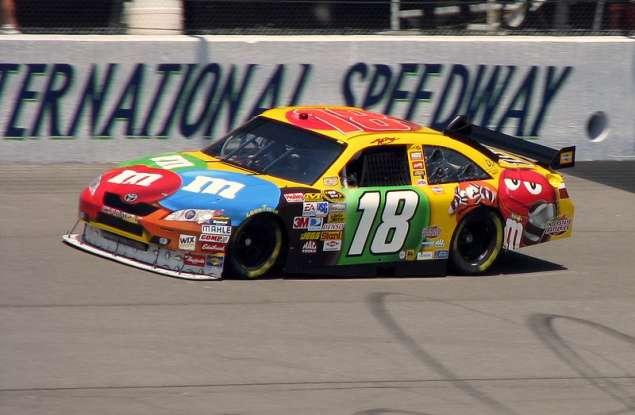 3. Who drives this NASCAR?