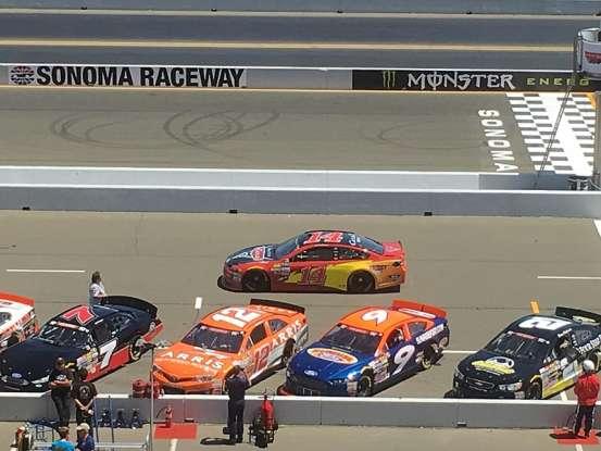 11. Who drives the no. 14 NASCAR?