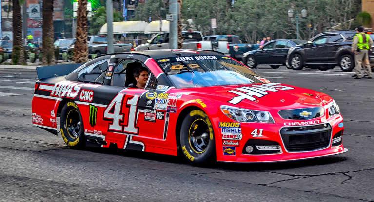 13. Who drives this NASCAR?