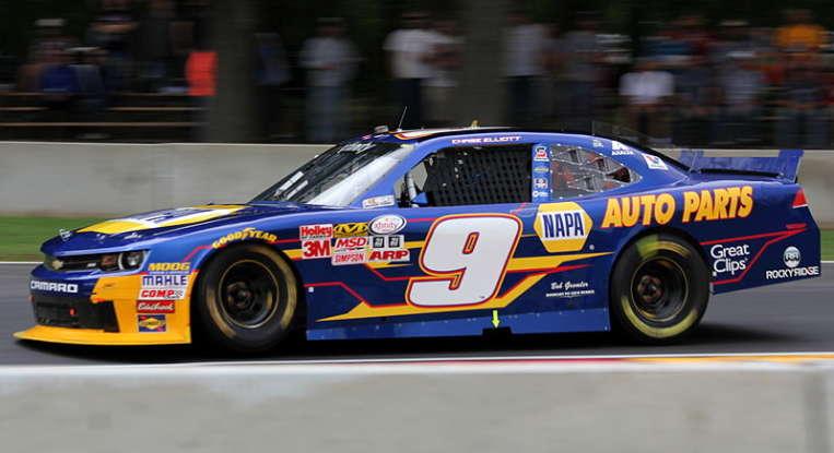 14. Who drives this NASCAR?