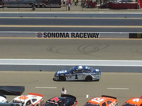 15. Who drives this NASCAR?