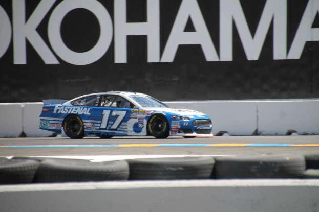 16. Who drives this NASCAR?