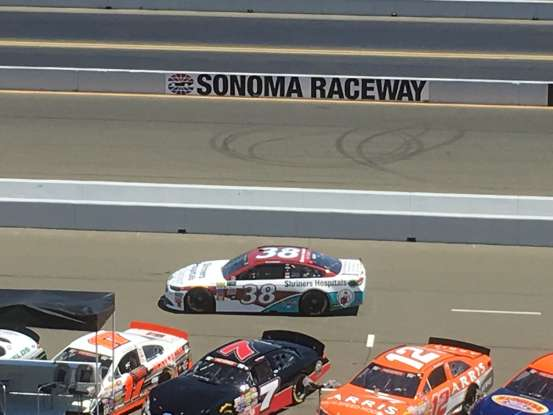 22. Who drives this NASCAR?