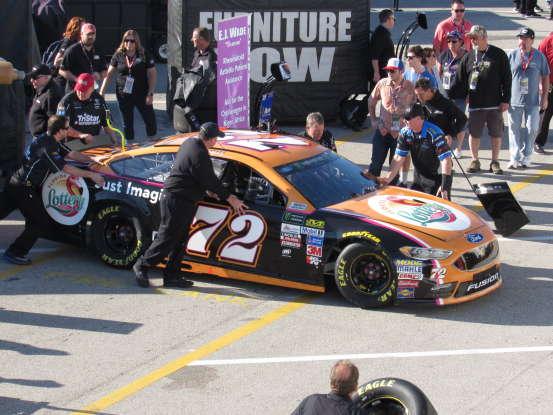 24. Who drives this NASCAR?