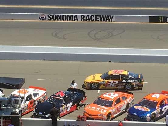 26. Who drives the #32 NASCAR?