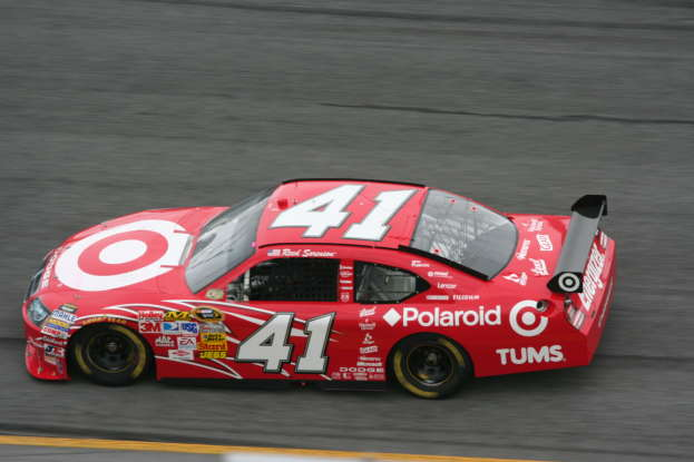 27. Who used to drive the #41 NASCAR in 2008?