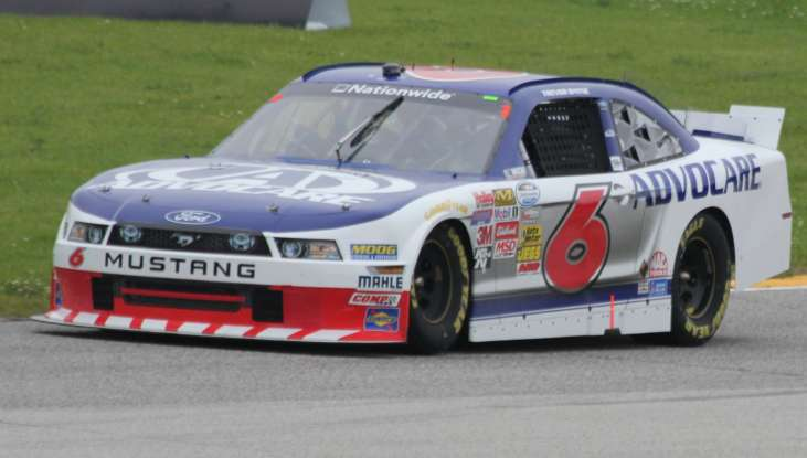 29. Who drives this NASCAR?