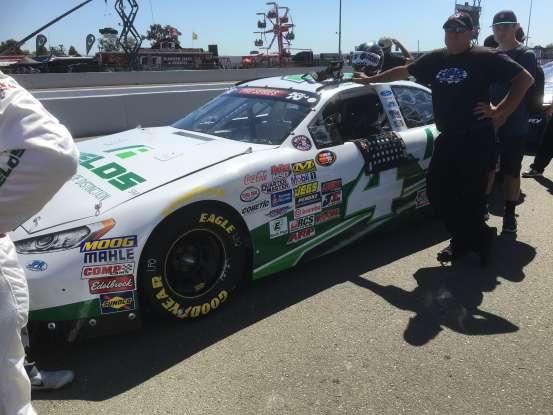 28. Who drives this NASCAR?