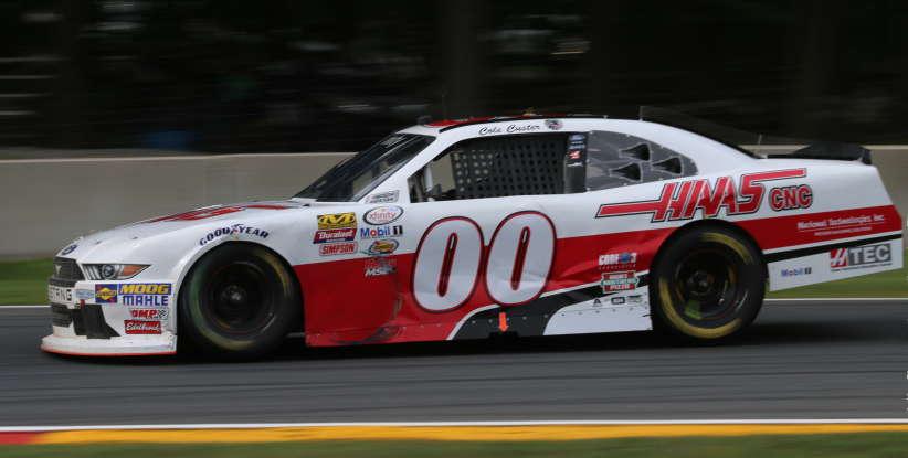 30. Who drives this NASCAR?