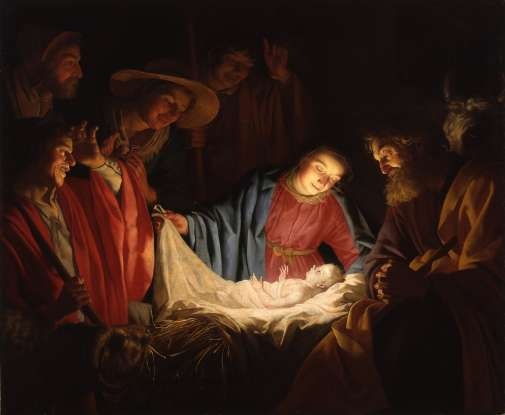3. Jesus was born in a manger. What is a manger?