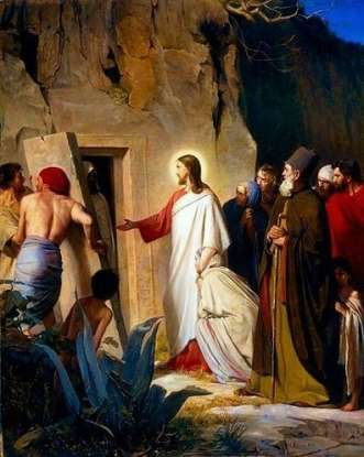 5. How long was Lazarus dead before Jesus brought him back to life?