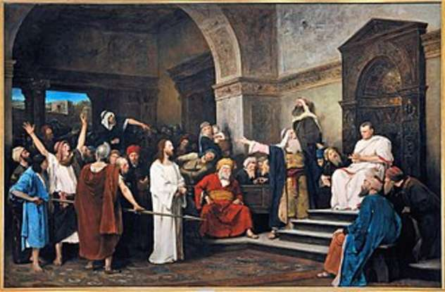 13. Who was the Roman procurator that ruled over Israel, and ultimately crucified Jesus?