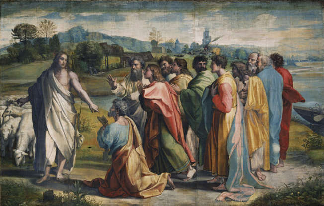 17. What did Jesus tell his apostles that they would be?