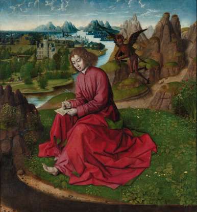 23. To which island was John exiled, where he wrote the Revelation of St. John?