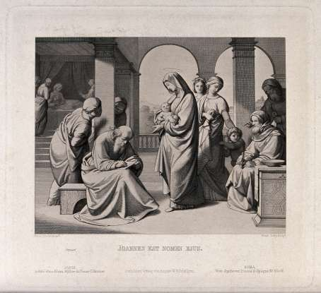 30. Several months before John the Baptist was born, his father was struck with what malady?