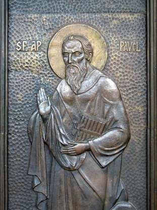 34. What did the apostle Paul do for a living?