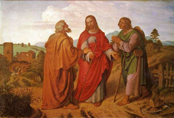 38. After Jesus rose from the dead, he spoke to two men on a road, then disappeared. Where were the men going?