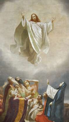 42. From which mountain did Jesus ascend into heaven?