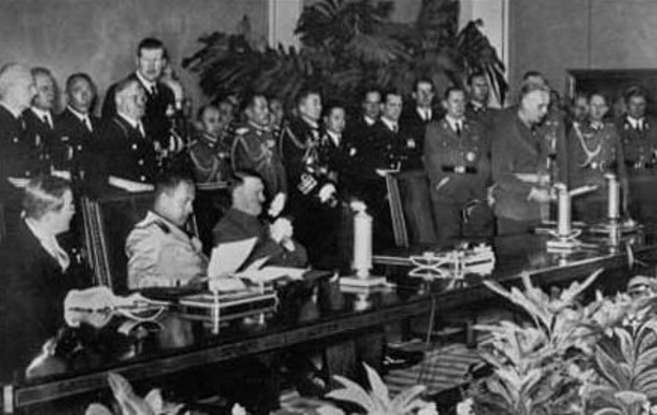 2. Which country was not part of the Axis military alliance?