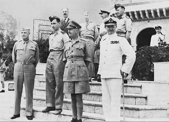 24. Who was the overall commander of the Allied invasion of Sicily?