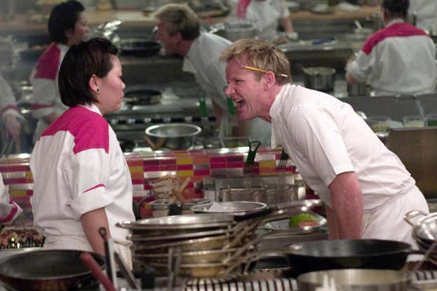 12. Which British master chef has become a meme for his fiery temper?