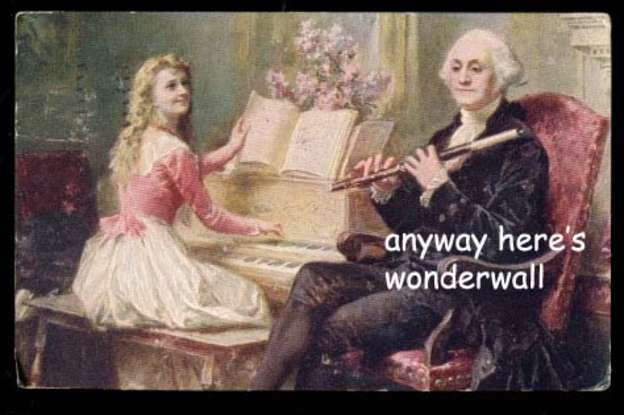 18. Which Founding Father became a meme called The Adventures of (his name)?