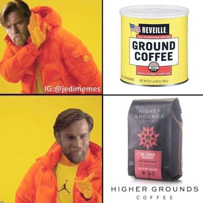 13. I Have the High Ground is a meme based on the climactic scene of which Star Wars film?