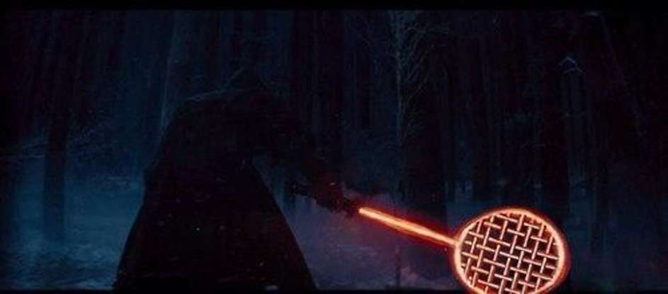 19. Which character from the new Star Wars trilogy became a meme for tri-blade lightsaber (which the Internet has hilariously morphed into other objects)?