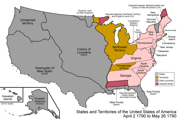 19. Who does Hamilton create the Compromise of 1790 with?