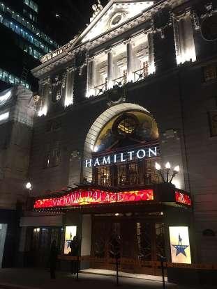 31. What did <em>Hamilton</em> start out as?