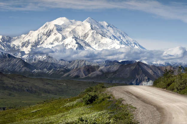 25. Which famous landmark is this? (Hint: It used to be known as Mount McKinley.)